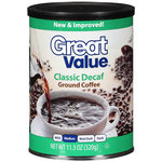 Great Value Classic Decaf Medium Roast Ground Coffee