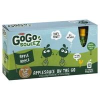 GoGo Squeez Apple Apple Applesauce On The Go Pouches