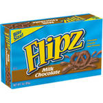 Flipz Milk Chocolate Pretzels Theater Box