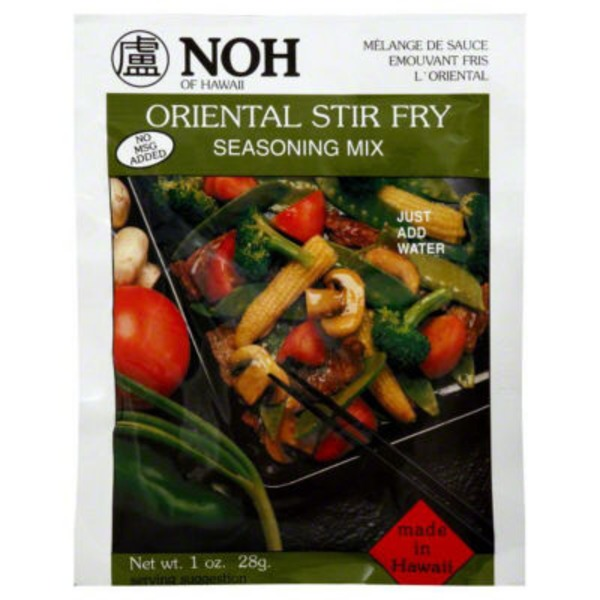 NOH Foods of Hawaii Oriental Stir Fry Seasoning Mix