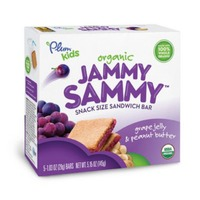 Plum Organics Jammy Sammy Peanut Butter & Grape  Sandwich Bar