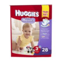 Huggies Little Movers Diapers Size 3