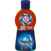 Finish Jet Dry Turbo Rinse Aid