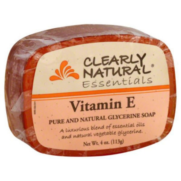 Clearly Natural Essentials Clearly Natural Glycerine Soap Vitamin E