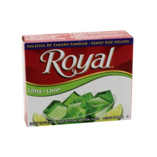 Royal Lime Gelatin