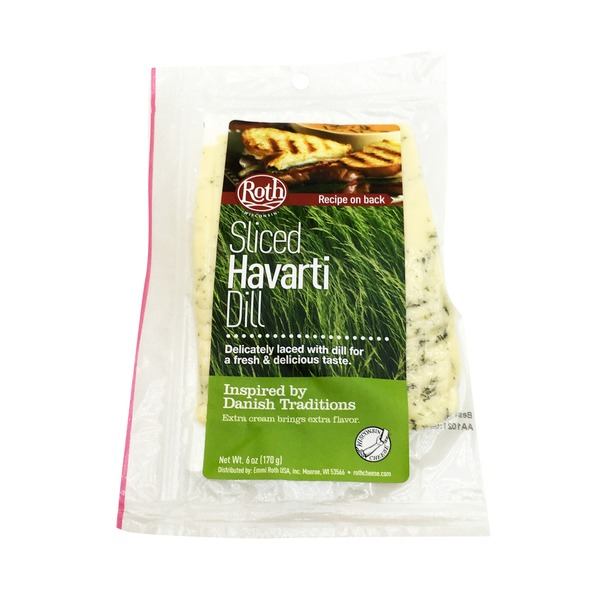 Roth Sliced Havarti Dill Cheese