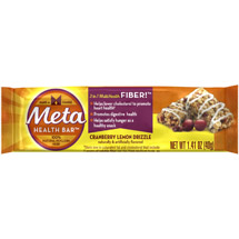Meta Health Bar Cranberry Lemon Drizzle Heath Bar