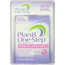 Plan B One-Step Emergency Contraceptive Levonorgestrel Tablet