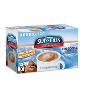Swiss Miss Milk Chocolate K-Cup Pods Hot Cocoa