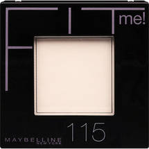 Maybelline New York Fit Me Powder Ivory 115
