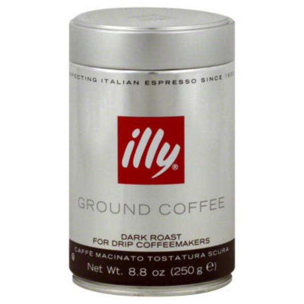 Illy Ground Coffee Dark Roast