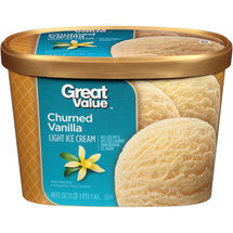 Great Value Light Vanilla Ice Cream