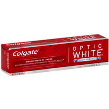 Colgate Optic White Icy Fresh Cool Fresh Mint Anticavity Fluoride Toothpaste