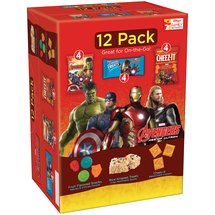Kellogg's Marvel Avengers Age of Ultron Snacks Variety Pack