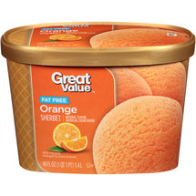 Great Value Orange Sherbet
