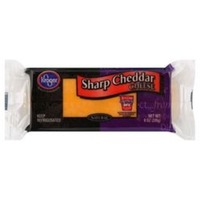 Kroger Sharp Cheddar Cheese Block