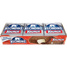 Klondike Krunch Bar 4.5 oz Ice Cream Bars