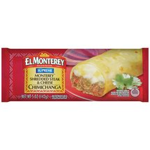 El Monterey Supreme Shredded Steak & Cheese Chimichanga