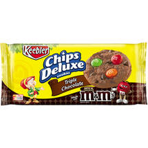 Keebler Chips Deluxe Triple Chocolate Cookies