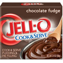 JELL-O Chocolate Fudge Pudding & Pie Filling