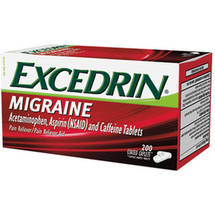Excedrin Migraine Pain Reliever/Pain Reliever Aid Caplets