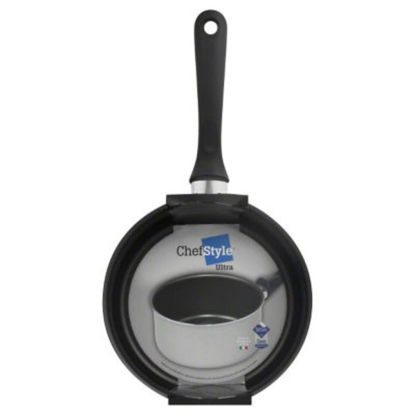 Chef Style Ultra 3 Qt Non Stick Open Sauce Pan
