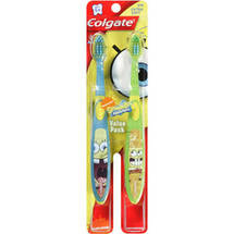 Colgate SpongeBob SquarePants Toothbrush Extra Soft