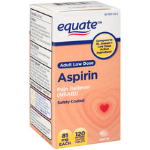 Equate Adult Low Dose Aspirin Tablets