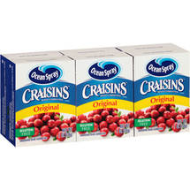 Craisins Original Dried Cranberries (Pack of 6)