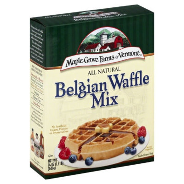 Maple Grove Farms Belgian All Natural Waffle Mix