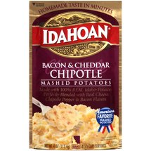 Idahoan Bacon & Cheddar Chipotle Mashed Potatoes