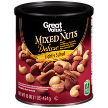 Great Value Lightly Salted Deluxe Mixed Nuts