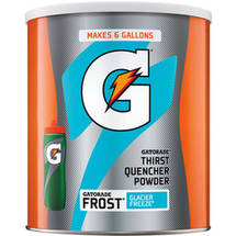 Gatorade Thirst Quencher Frost Glacier Freeze Sports Drink Mix