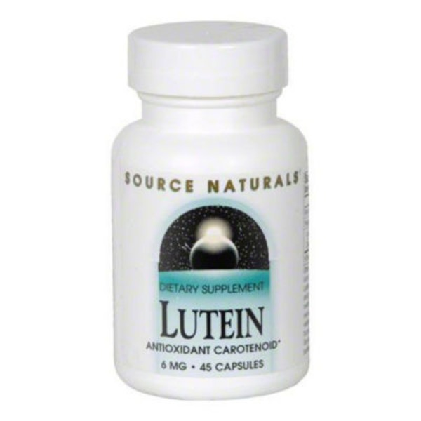 Source Naturals Lutein 6 Mg Capsules