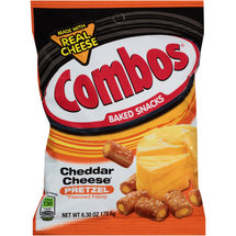Combos Cheddar Cheese Pretzel Baked Snacks