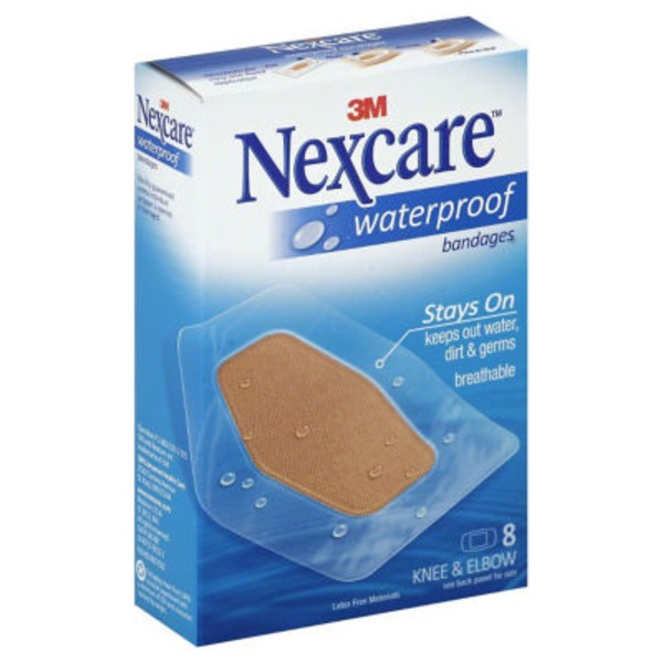 3M Nexcare Waterproof Knee and Elbow Bandage