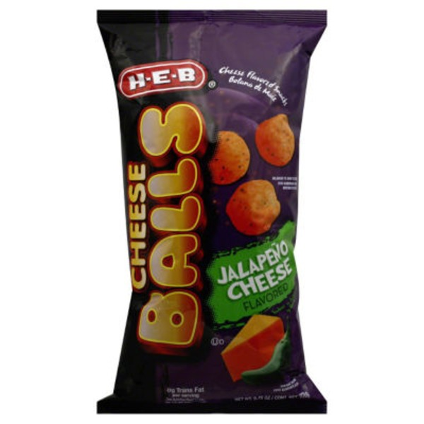 H-E-B Cheese Balls Jalapeño Cheese Flavored