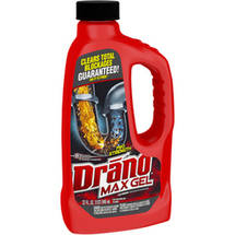 Drano Max Professional Strength Clog Remover Gel