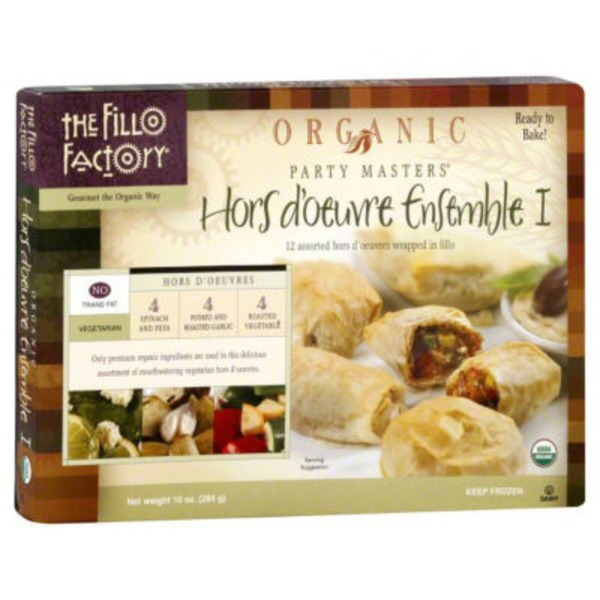 The Fillo Factory Organic Hors D'oeuvre Ensemble I