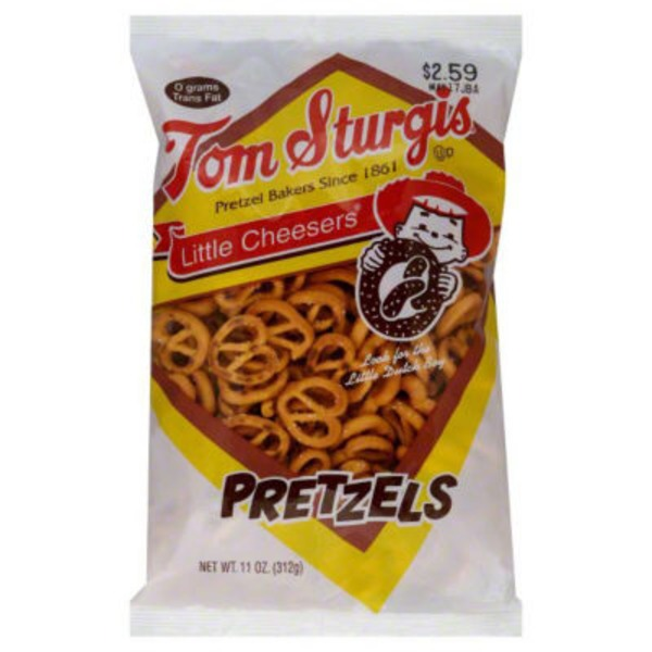 Tom Sturgis Artisan Little Cheesers Pretzels