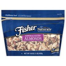 Fisher Chef's Naturals Natural Sliced Almonds