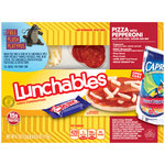 Oscar Mayer Lunchables Pepperoni & 6 fl oz 100% Fruit Juice Pizza