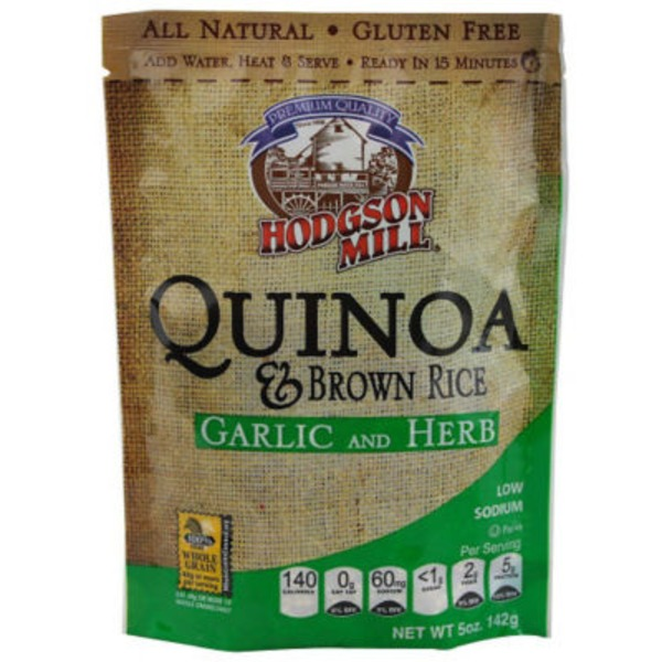 Hodgson Mill Quinoa & Brown Rice, Garlic and Herb