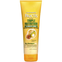 Garnier Fructis Triple Nutrition 3-Minute Undo Dryness Reversal Treatment for Dry Damaged Hair