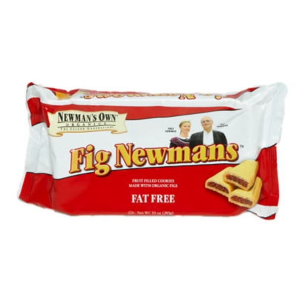 Newman's Own Fig Newmans Fat Free Fruit Filled Cookies
