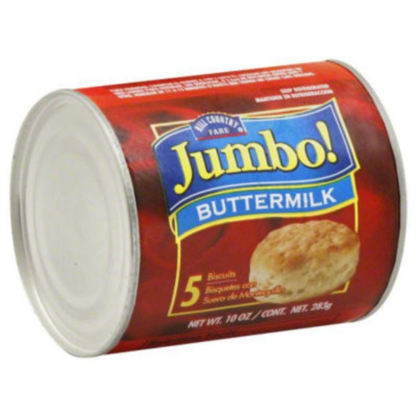 Hill Country Fare Jumbo Buttermilk Biscuits