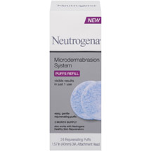 Neutrogena Microdermabrasion Cleansing System Puff Refills