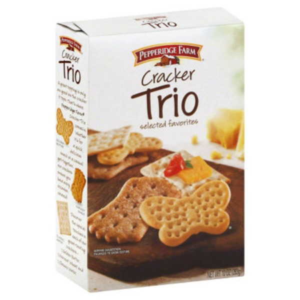 Pepperidge Farm Crackers Trio Crackers
