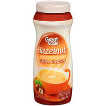 Great Value Hazelnut Coffee Creamer