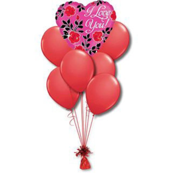 Love Small Balloon Bouquet